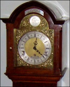Long-case grandmother clock