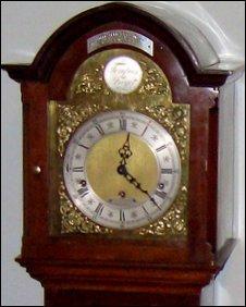 Long-case grandmother clock
