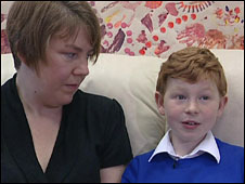 Julia McNaught with her son Ross McNaught