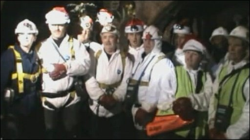 The Thames Water Sewer men singing
