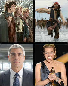 Lord Of The Rings, Pirates Of The Caribbean, Kate Winslet, George Clooney