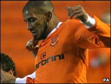 Algeria and Blackpool's Hameur Bouazza