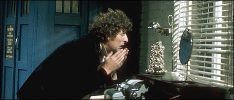 Tom Baker in Robot