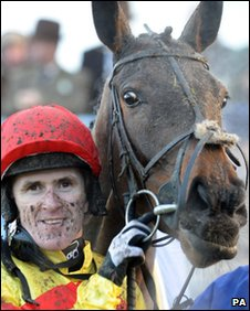 Jockey Tony McCoy and Galaxy Rock