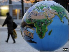 Globe exhibition in Copenhagen, Denmark (19 Dec 2009)