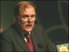 Plaid Cymru parliamentary leader Elfyn Llwyd