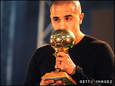 Algerian player of the year Madjid Bougherra