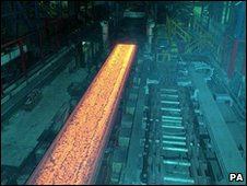 Steel working in Wales