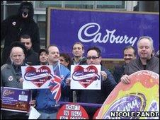 Cadbury's protest