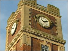 Terry's chocolate factory clock
