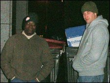 Prince William with Seyi Obakin