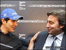 Bruno Senna and Adrian Campos