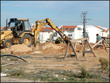 A building site in Sderot