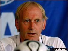 Dutch coach Piet Hamberg