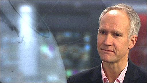 BBC F1 commentator Jonathan Legard