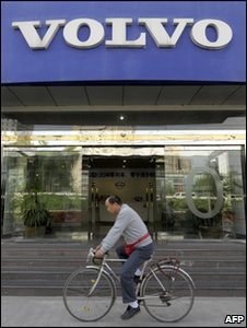 Volvo dealer in China