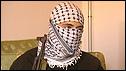 A militant in Gaza