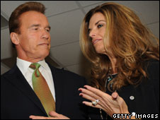 Maria Shriver and Governor Schwarzenegger
