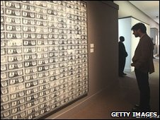 Andy Warhol artwork 200 One Dollar Bills