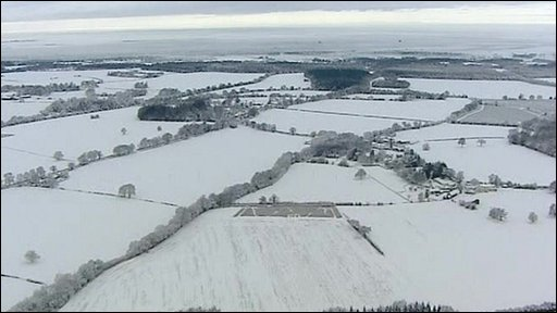 Snow in Hampshire
