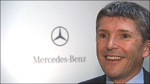 Mercedes GP chief Nick Fry