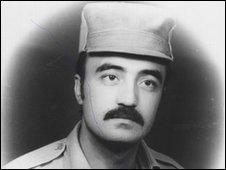 Rustam Tursunkulov as a Soviet soldier