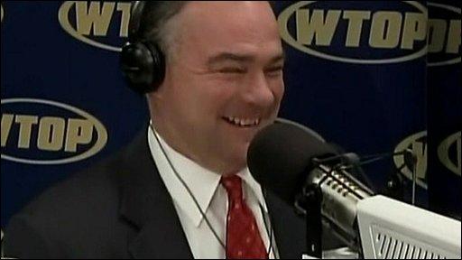 Outgoing Virginia Governor Tim Kaine