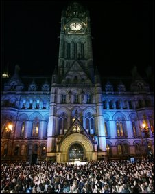 Manchester Passion in Albert Square