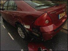 Keyham bus damage