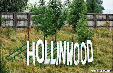 Hollinwood sign