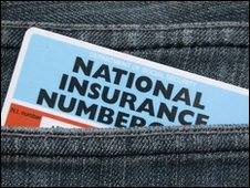 National Insurance Numbercardf