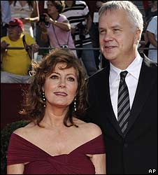 Susan Sarandon and Tim Robbins, pictured in 2008