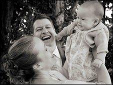 Tara Patterson with daughter Lyra