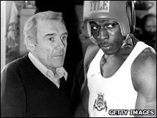 Terry Lawless and Frank Bruno