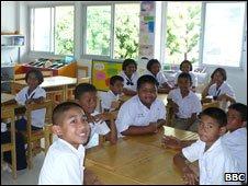 Ban Kalim School classroom Phuket, 23 Dec 09