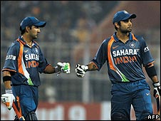India batsmen Gautam Gambhir and Virat Kohli