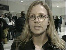 Melinda Dennis, passenger from Northwest Airlines Flight 253