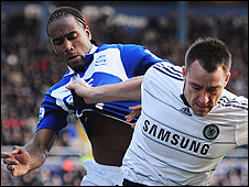 Cameron Jerome and John Terry