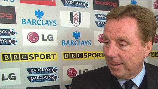Spurs manager Harry Redknapp