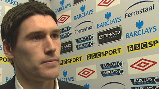 Man City's Gareth Barry
