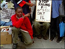 Umar Farouk Abdulmutallab on a school trip to London, 2001/2