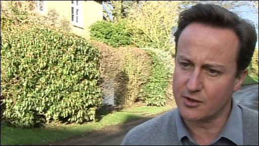 David Cameron, Conservative leader