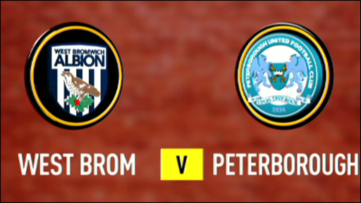 West Brom v Peterborough