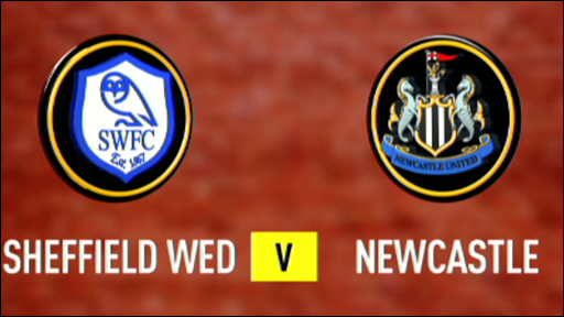Sheff Wed 2-2 Newcastle