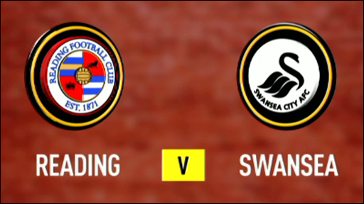 Reading v Swansea