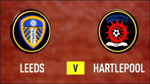 Leeds United 3-1 Hartlepool