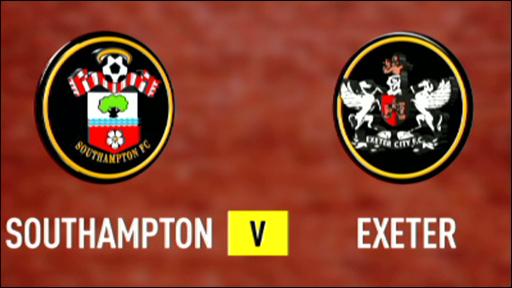 Southampton 3-1 Exeter