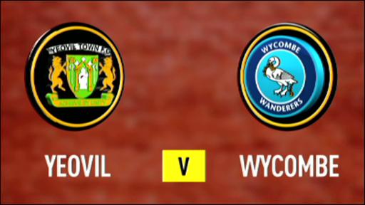 Yeovil 4-0 Wycombe