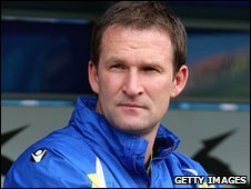 Leeds manager Simon Grayson