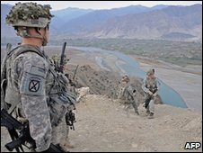 US soldiers in Kunar province (file image)